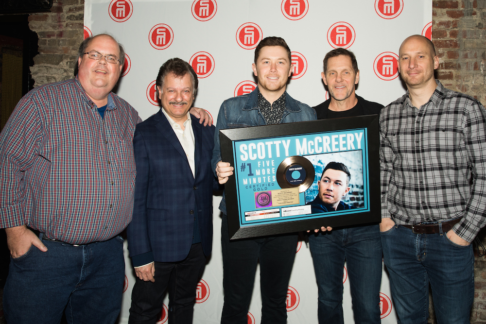 McCreery GOLD 1 plaque presentation